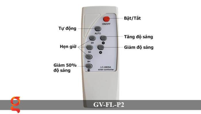 Đèn pha sử dụng năng lượng mặt trời GV-FL-P2 6