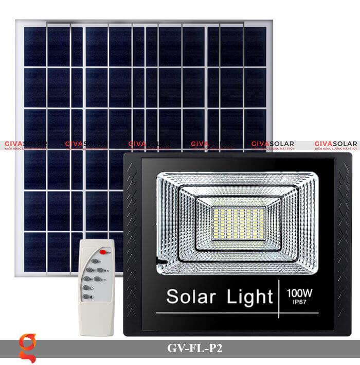 Đèn pha sử dụng năng lượng mặt trời GV-FL-P2 7