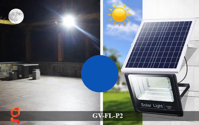 Đèn pha sử dụng năng lượng mặt trời GV-FL-P2 9