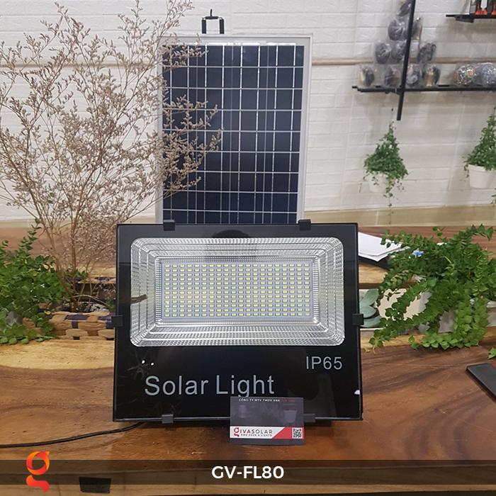 Đèn pha năng lượng mặt trời GV-FL80 80w 2