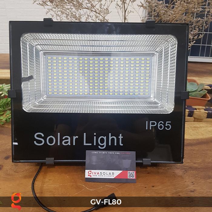 Đèn pha năng lượng mặt trời GV-FL80 80w 3