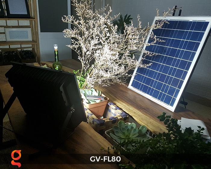 Đèn pha năng lượng mặt trời GV-FL80 80w 5