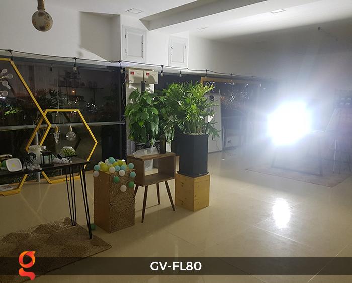 Đèn pha năng lượng mặt trời GV-FL80 80w 7