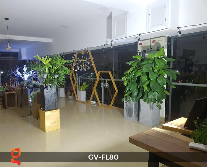 Đèn pha năng lượng mặt trời GV-FL80 80w 8