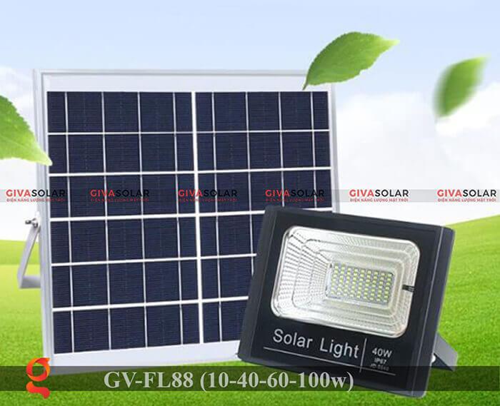 Đèn pha Led năng lượng mặt trời GV-FL88 10