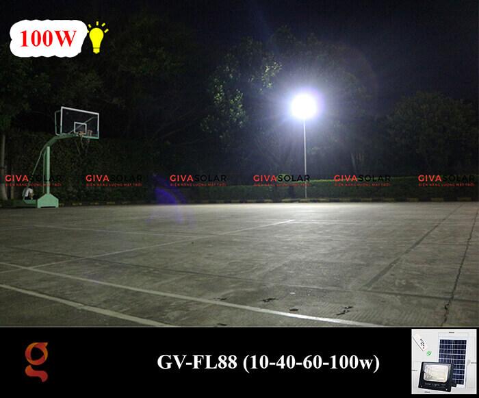 Đèn pha Led năng lượng mặt trời GV-FL88 16