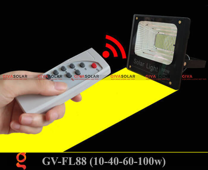 Đèn pha Led năng lượng mặt trời GV-FL88 5