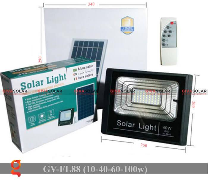 Đèn pha Led năng lượng mặt trời GV-FL88 6