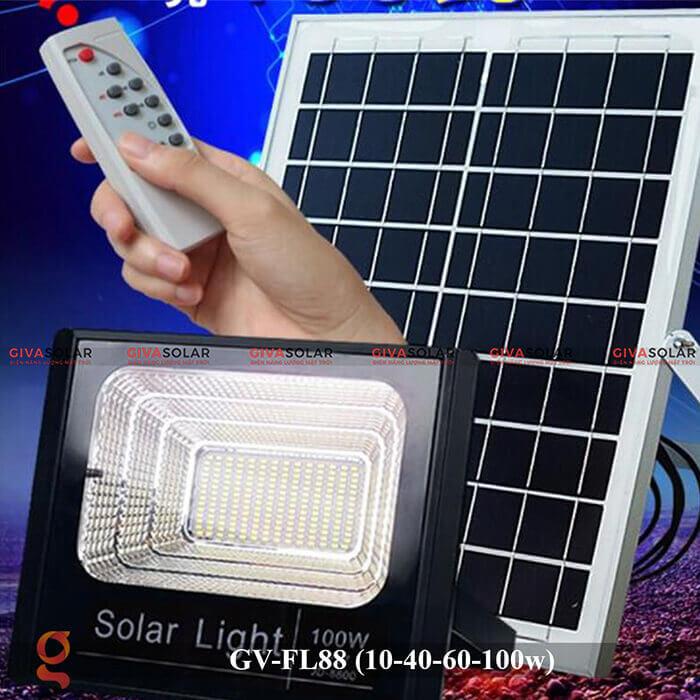 Đèn pha Led năng lượng mặt trời GV-FL88 9