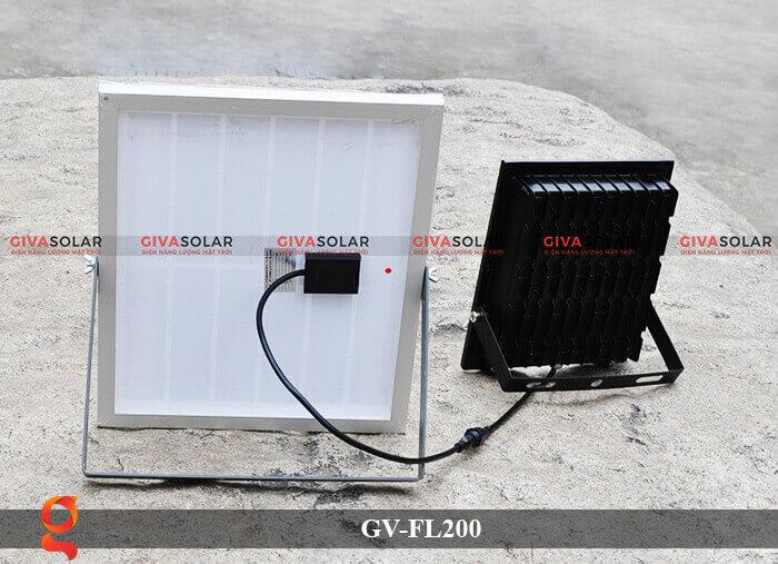 den led pha nang luong mat troi GV-FL200 8