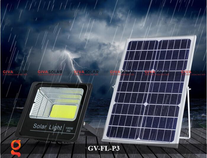 Đèn pha cảm biến năng lượng mặt trời GV-FL-P3 11