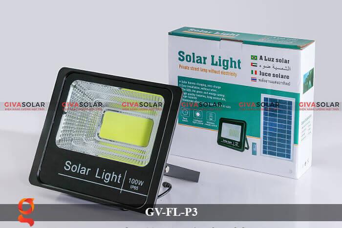 Đèn pha cảm biến năng lượng mặt trời GV-FL-P3 17