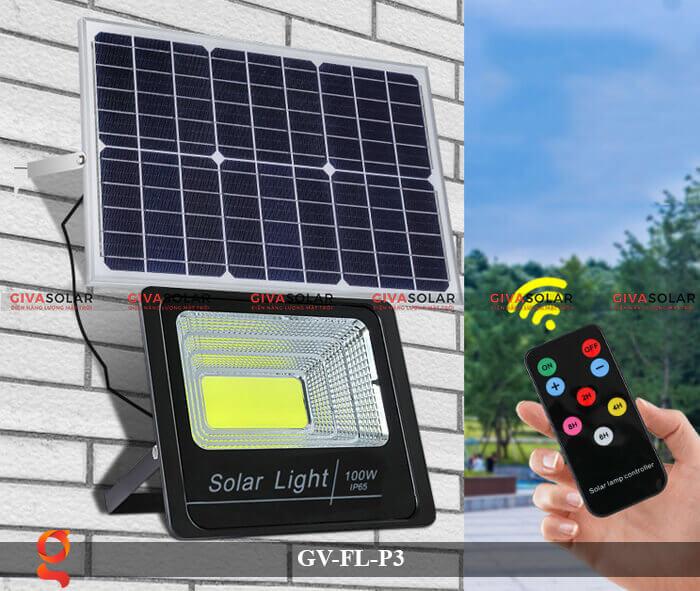 Đèn pha cảm biến năng lượng mặt trời GV-FL-P3 7