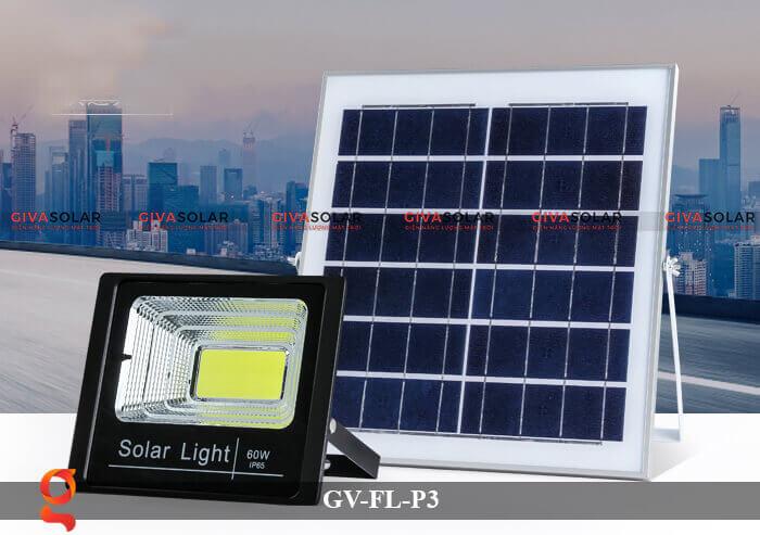 Đèn pha cảm biến năng lượng mặt trời GV-FL-P3 8