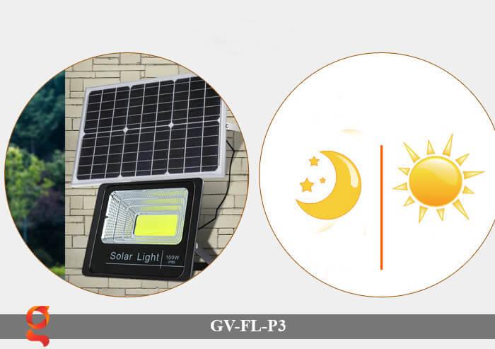 Đèn pha cảm biến năng lượng mặt trời GV-FL-P3 9
