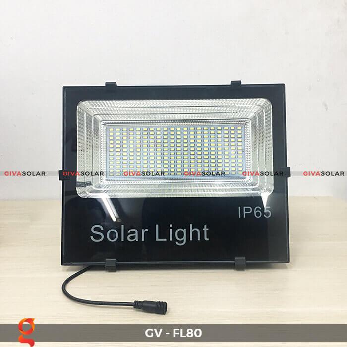 Đèn pha năng lượng mặt trời GV-FL80 1