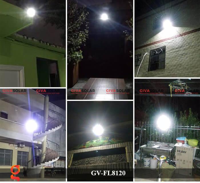 Đèn LED pha năng lượng mặt trời GV-FL8120 13