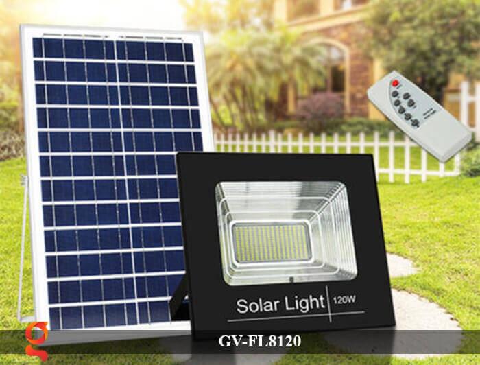 Đèn LED pha năng lượng mặt trời GV-FL8120 5