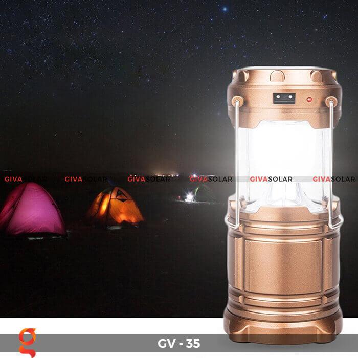 Đèn Pin năng lượng mặt trời GV-HL35 5