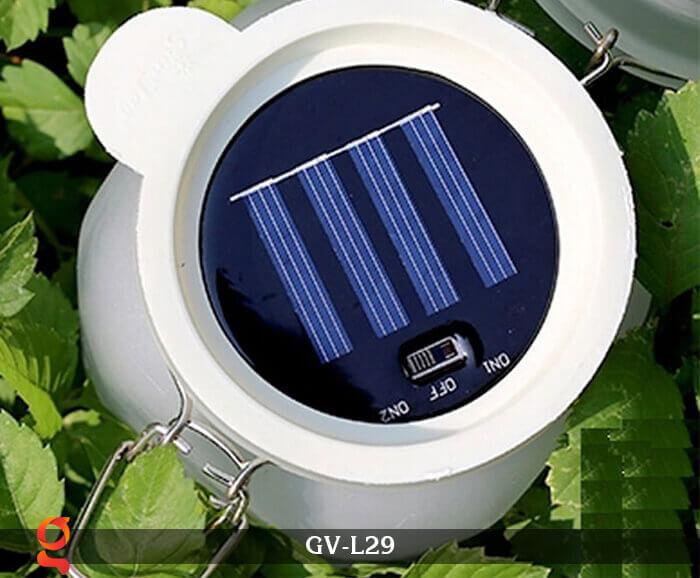 Đèn trang trí đổi màu hình lọ thủy tinh GV-L29 17