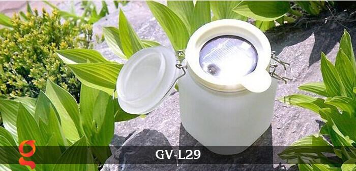 Đèn trang trí đổi màu hình lọ thủy tinh GV-L29 18