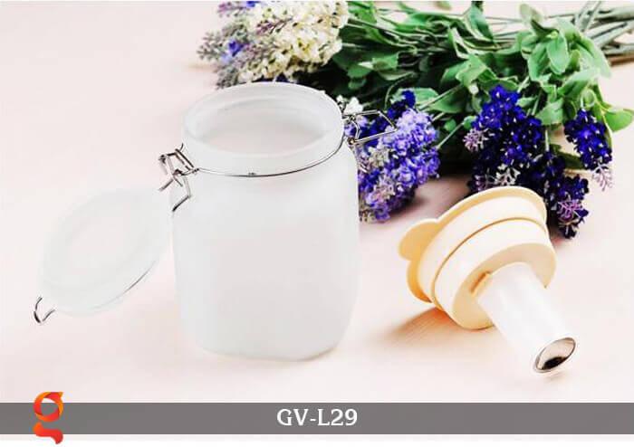 Đèn trang trí đổi màu hình lọ thủy tinh GV-L29 19