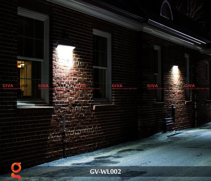 Đèn Led treo tường năng lượng mặt trời GV-WL002 13
