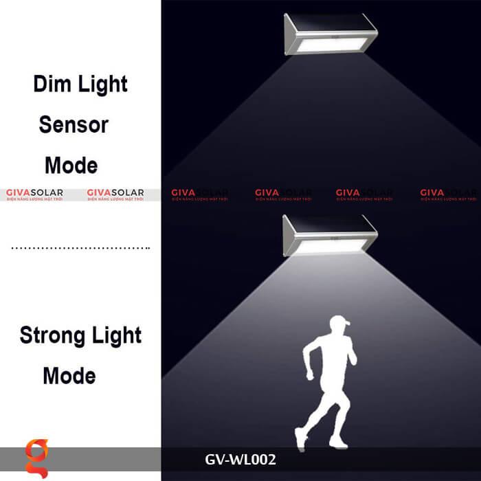 Đèn Led treo tường năng lượng mặt trời GV-WL002 8