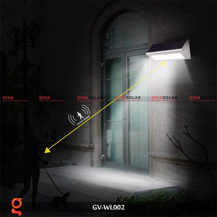 Đèn Led treo tường năng lượng mặt trời GV-WL002 9