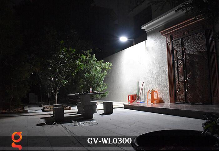Đèn treo tường năng lượng mặt trời GV-WL0300 12