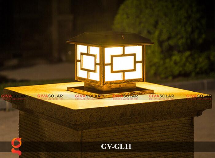 Đèn trụ cổng năng lượng mặt trời GV-GL11 10
