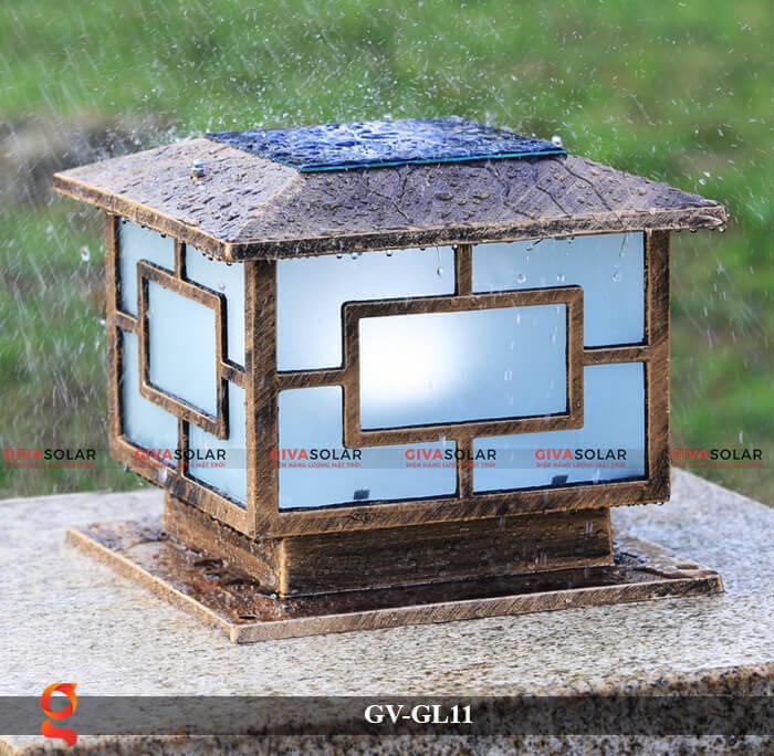Đèn trụ cổng năng lượng mặt trời GV-GL11 14