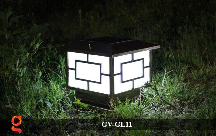 Đèn trụ cổng năng lượng mặt trời GV-GL11 15