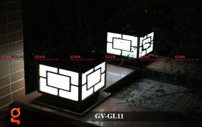 Đèn trụ cổng năng lượng mặt trời GV-GL11 16