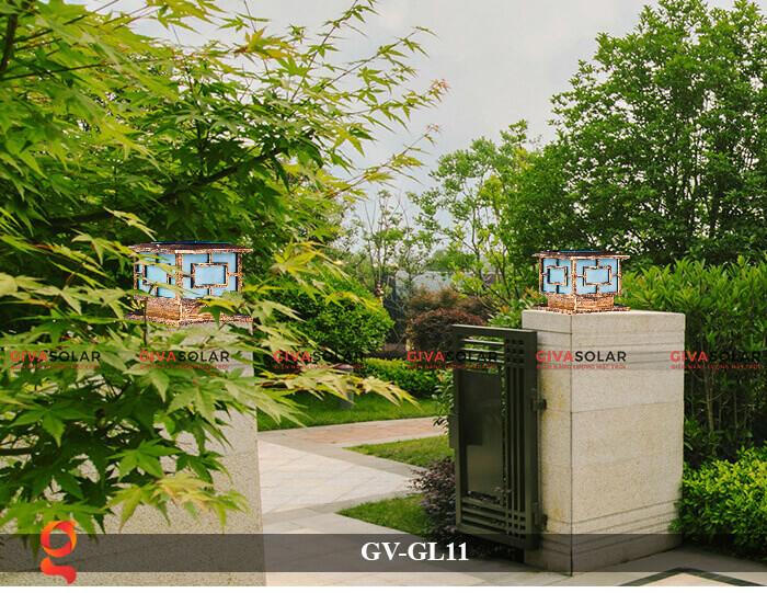 Đèn trụ cổng năng lượng mặt trời GV-GL11 4