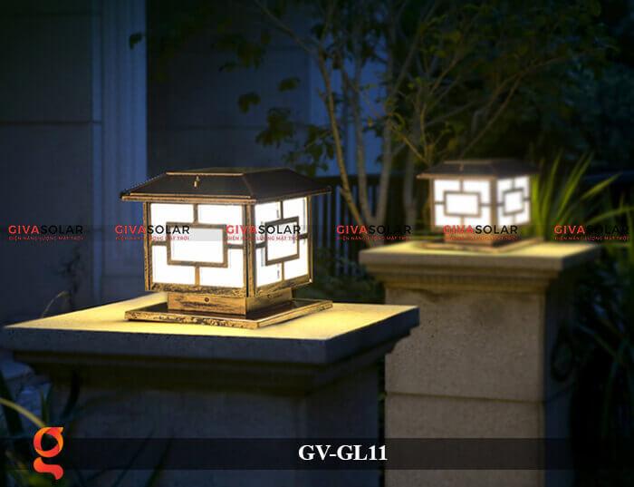 Đèn trụ cổng năng lượng mặt trời GV-GL11 6