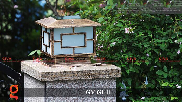 Đèn trụ cổng năng lượng mặt trời GV-GL11 8
