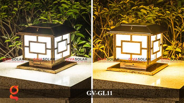 Đèn trụ cổng năng lượng mặt trời GV-GL11 9