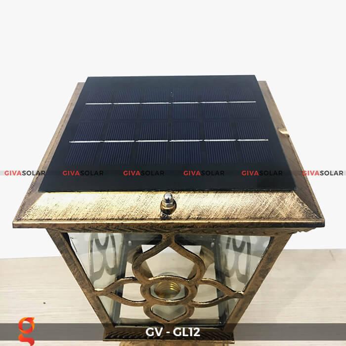 Đèn cổng năng lượng mặt trời GV-GL12 4