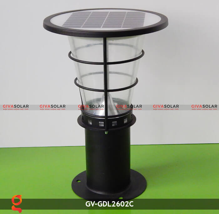 Đèn lối đi năng lượng mặt trời GV-GDL2602C 1