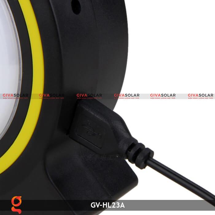 Đèn xách tay năng lượng mặt trời GV-HL23A 12