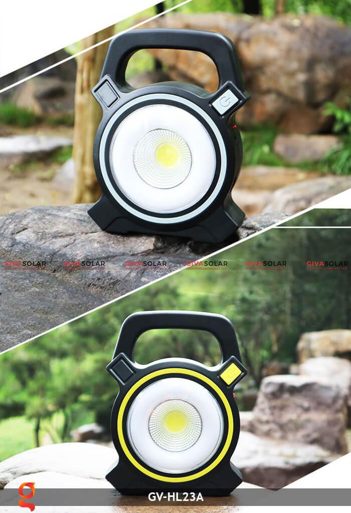 Đèn xách tay năng lượng mặt trời GV-HL23A 15