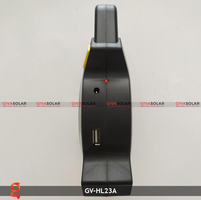 Đèn xách tay năng lượng mặt trời GV-HL23A 9