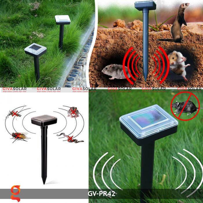 Dụng cụ đuổi côn trùng năng lượng mặt trời GV-PR42 1