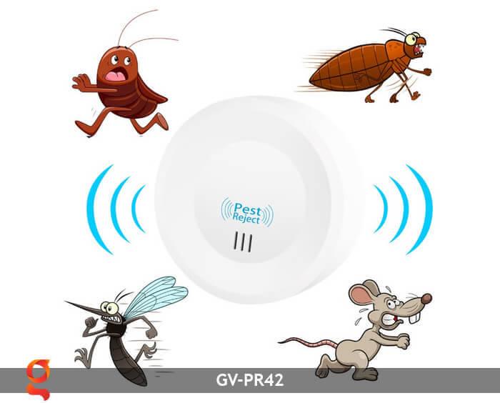 Dụng cụ đuổi côn trùng năng lượng mặt trời GV-PR42 17