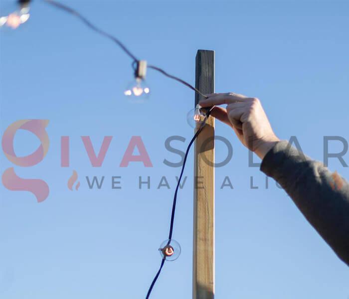Hướng dẫn lắp đặt đèn dây trang trí đúng cách 12