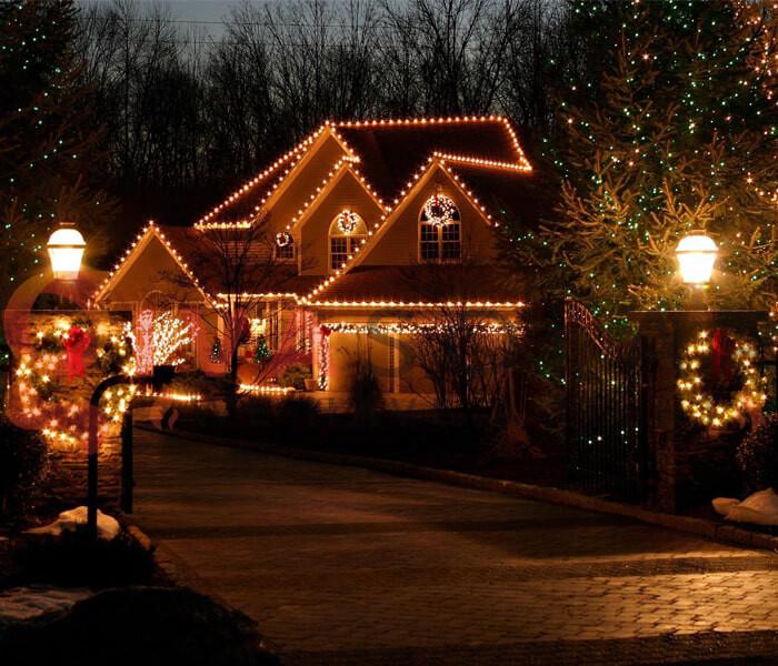 Hướng dẫn lắp đặt đèn trang trí Noel ngoài trời 11