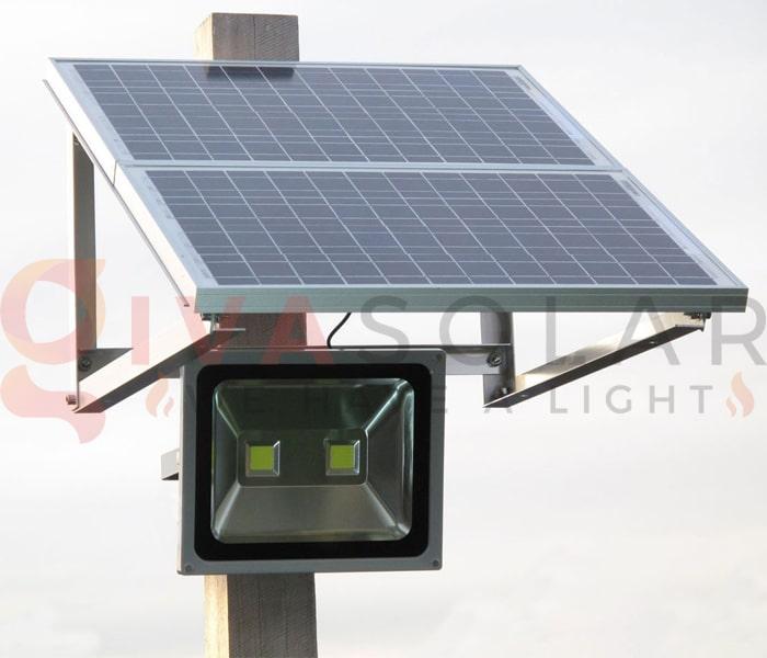 Hướng dẫn sử dụng đèn pha LED năng lượng mặt trời 6