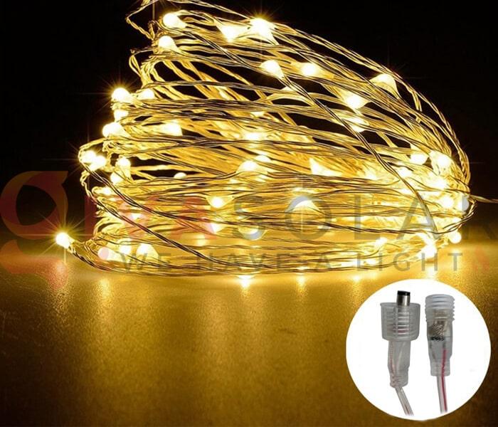 Hướng dẫn treo đèn trang trí Noel xung quanh cửa sổ 15