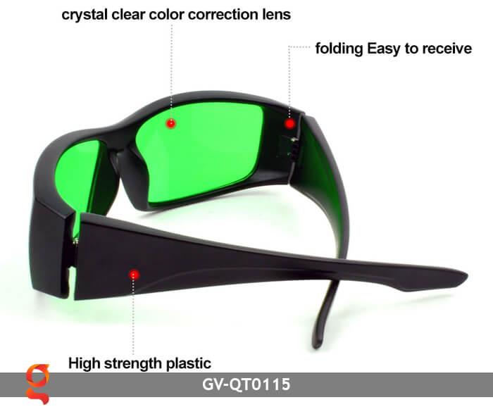 Mắt kính bảo vệ mắt GV-QT0115 5